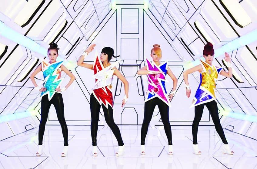 all girl K-pop group 2ne1
