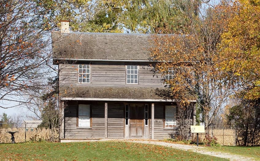 Uncle Tom's Cabin Historic site in Dresden, Ontario