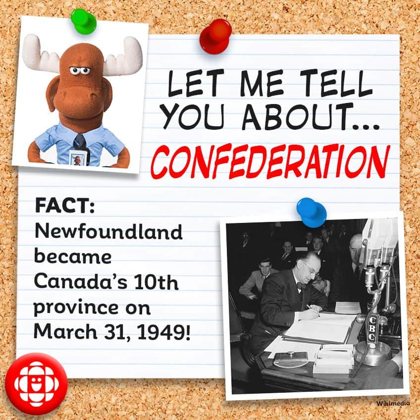 Newfoundland became Canada's 10th province on March 31, 1949.