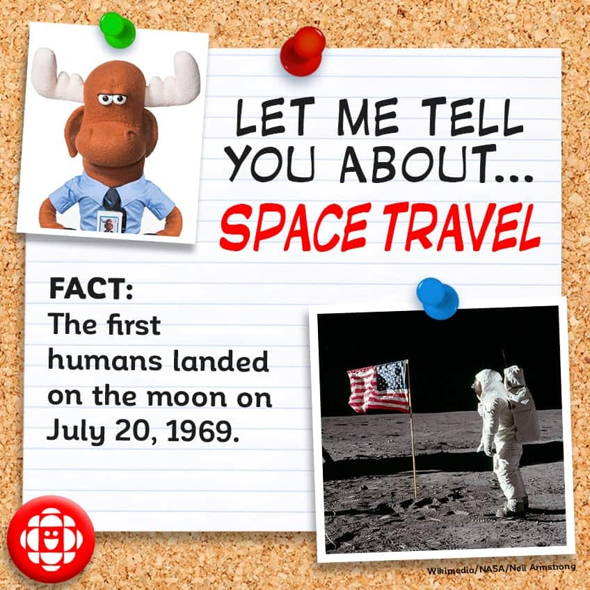 FACT: The first humans landed on the moon on July 20, 1969.
