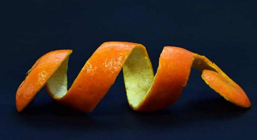 An orange peel