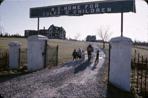 Sign: N.S. Home For Colored Children