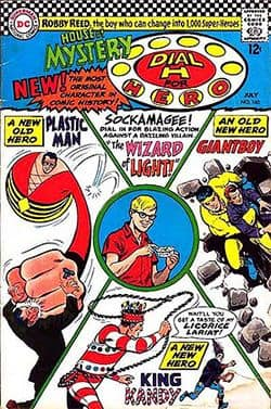 Comic book cover: House of Mystery