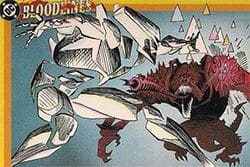 Comic art of Prism, created by Chris Claremont and Louise Simpson.