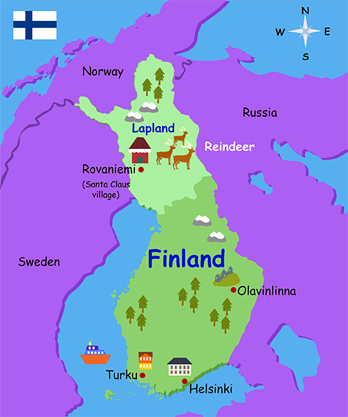 Finnish Lapland how to get there plan is flexible