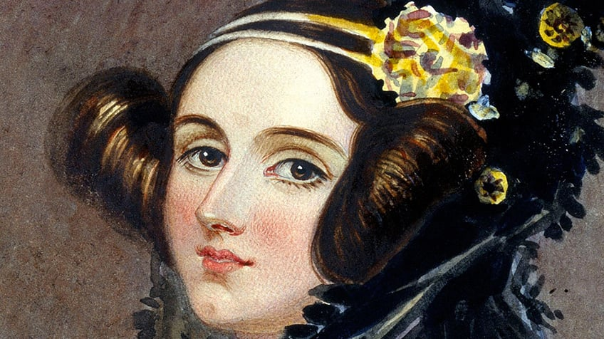 A portrait of Ada Lovelace.