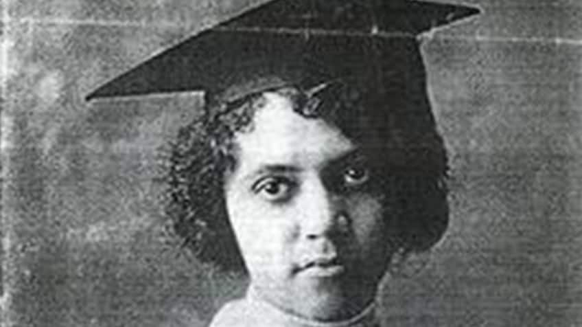 A graduation photo of Alice Ball.