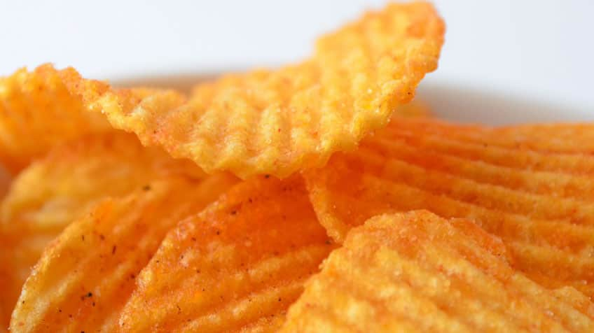 All-dressed chips.