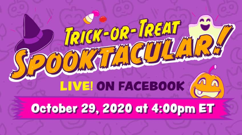 CBC Kids Trick-or-Treat Spooktacular on Facebook Live