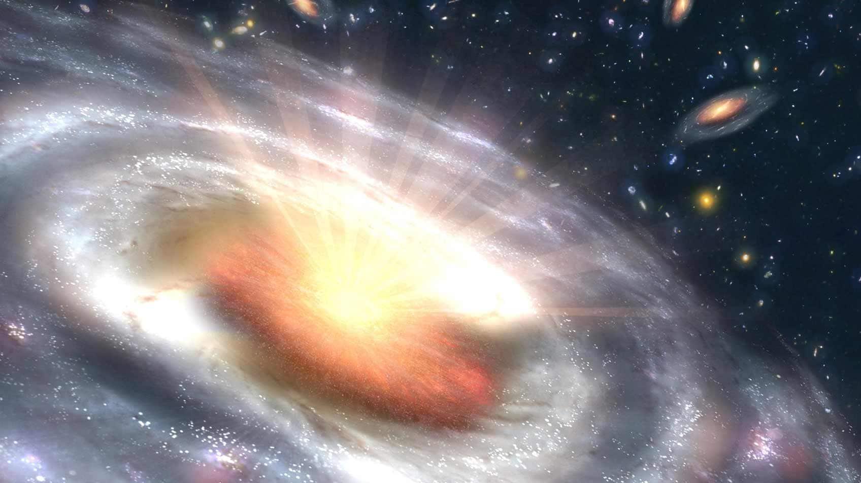 Galactic orgasm theory