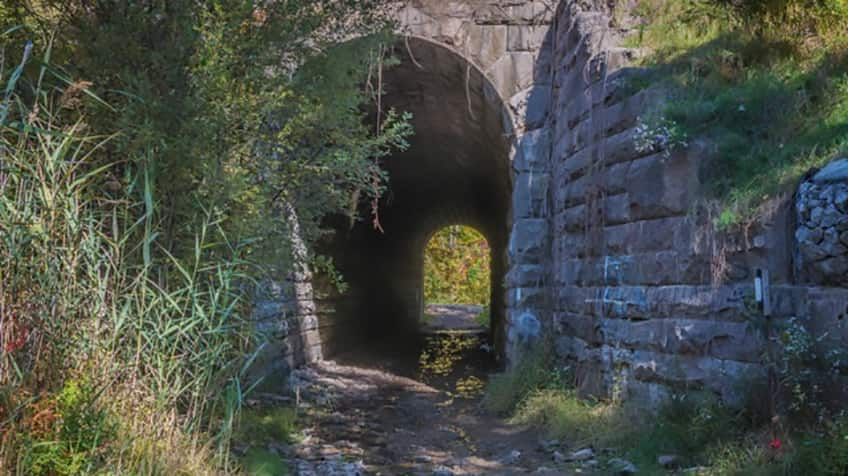 blue ghost tunnel