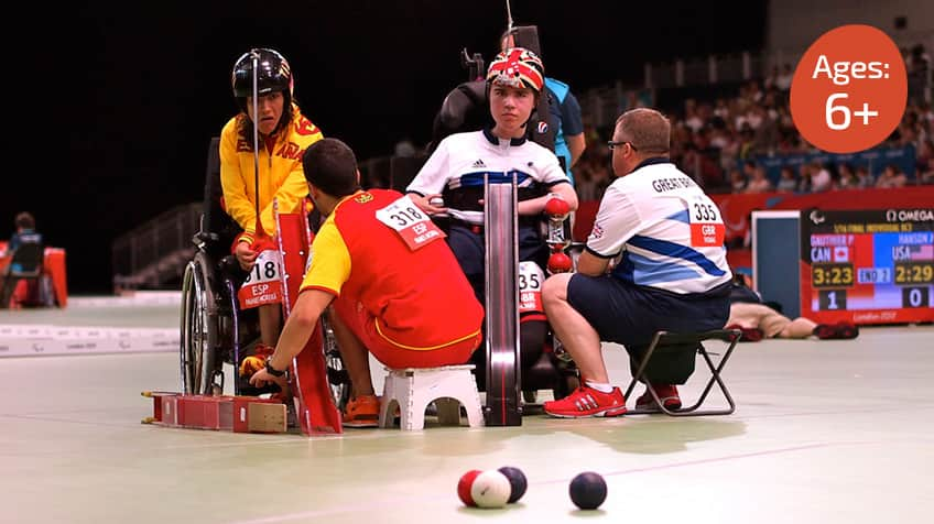 Cool sports: boccia infographic | Explore | Awesome ...