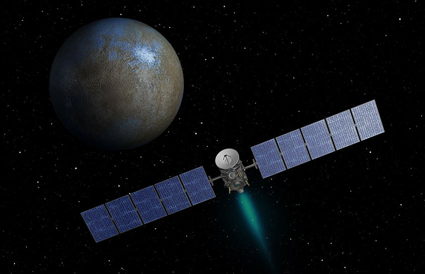 NASA's Dawn spacecraft on its way to Ceres