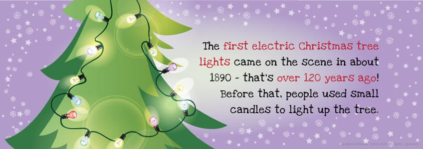 Captivating The First Electric Christmas Tree Lights Came On The Scene In About 1890    Thatu0027s Over