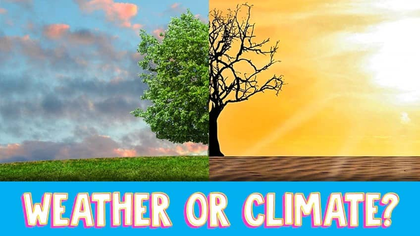 Weather or climate quiz