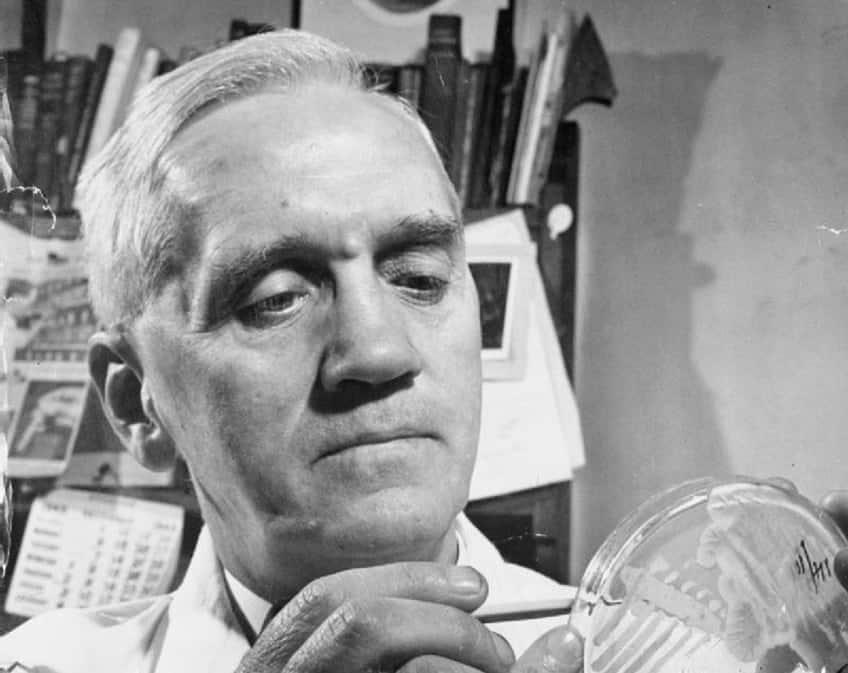 Alexander Fleming the inventor of penicillin