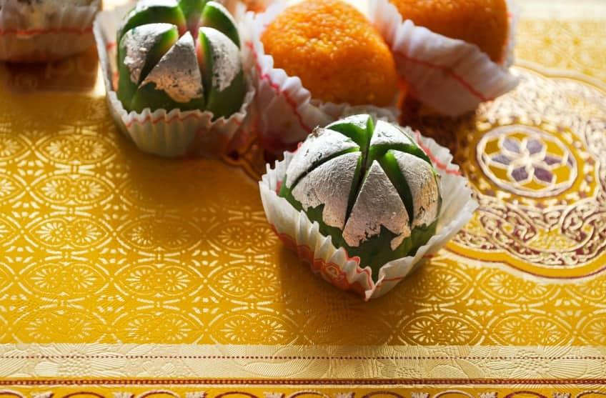 Traditional Diwali sweets