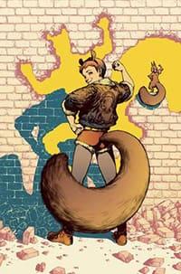 Squirrel Girl comic book art