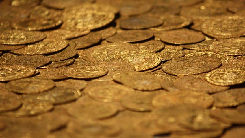 gold coin treasure