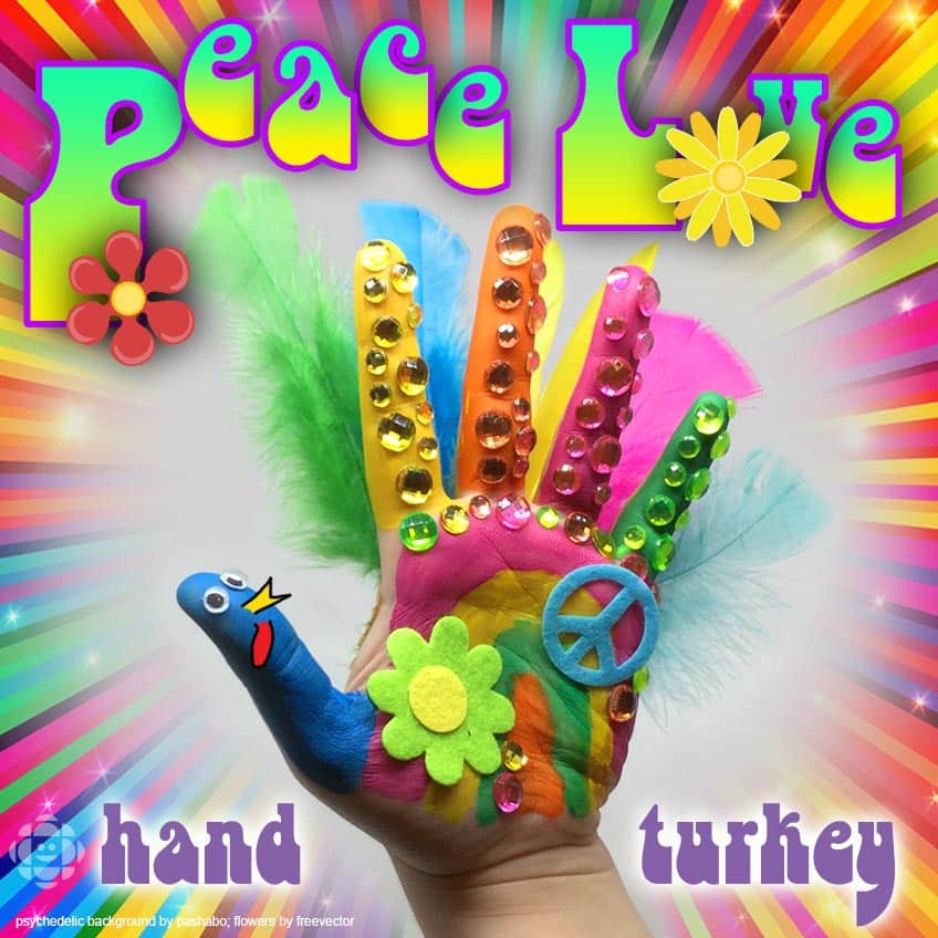 wow your friends and family with a 3d hand turkey this