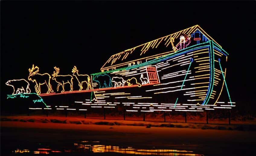 6 Great Places To See Holiday Light Shows In Canada