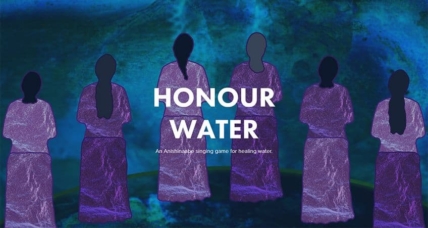 screen capture from Honour Water