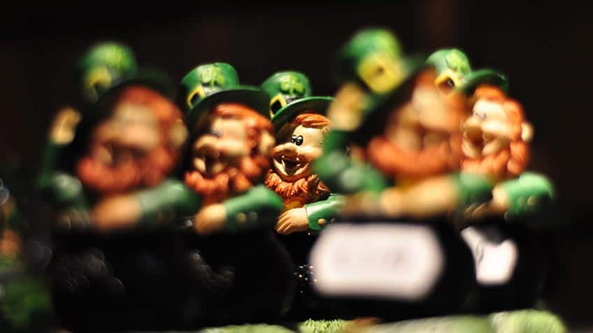 A bunch of leprechauns.