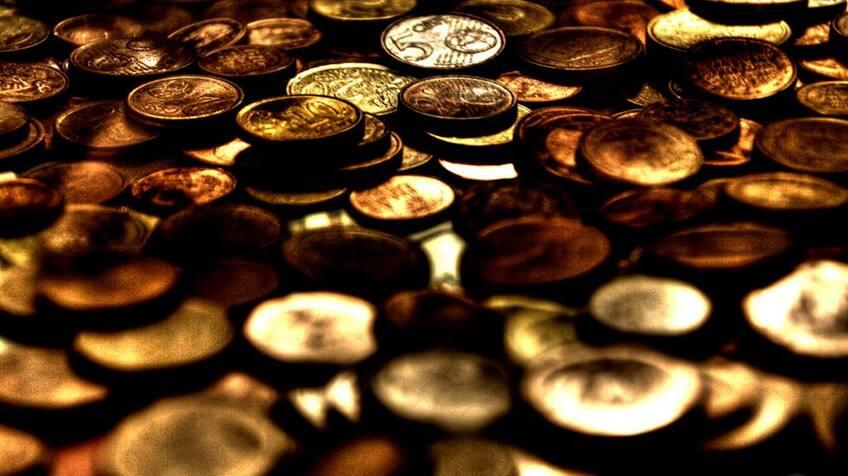 gold coin treasure