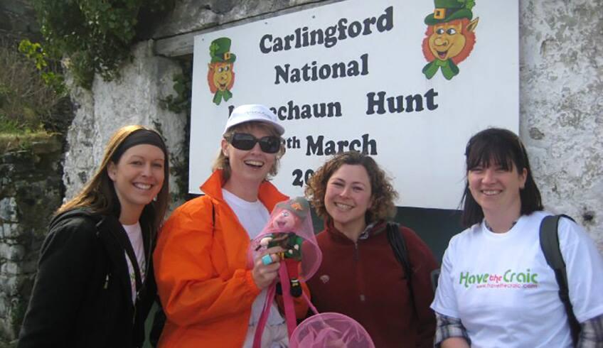 Leprechaun hunt in Carlingford