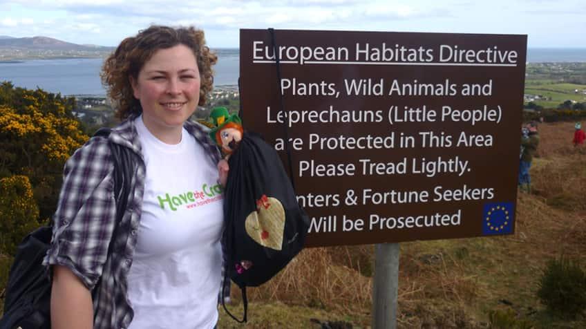 leprechaun habitat in Ireland