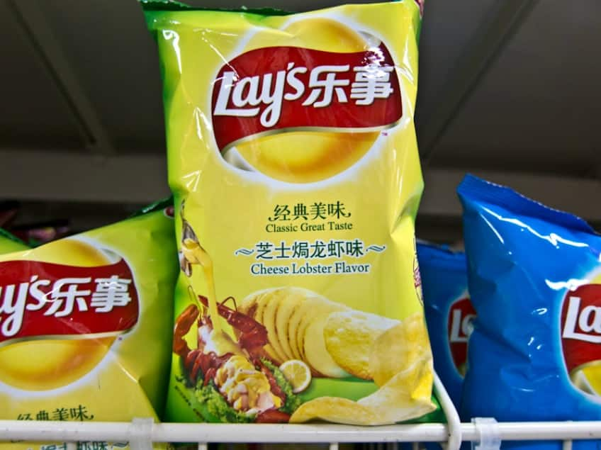 8 crazy potato chip flavours from around the world