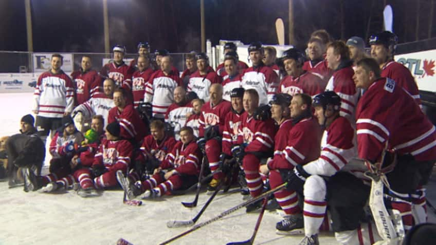 Forty players played in shifts to compete in the record-setting longest game.