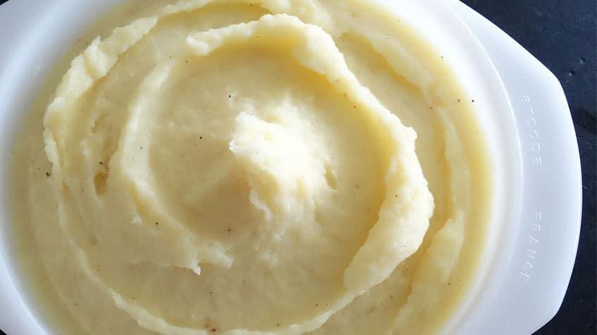 Instant mashed potato.