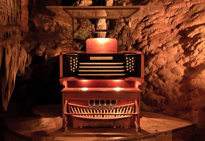 great stalacpipe organ in a cave