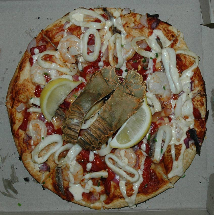 seafood pizzza