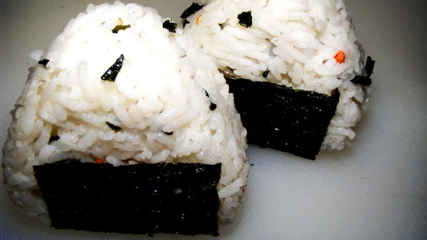 Onigiri rice from Japan
