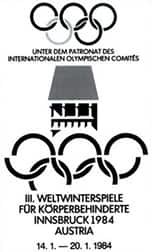 1984 Paralympic Winter Games logo