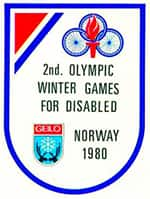 1980 Paralympic Winter Games logo