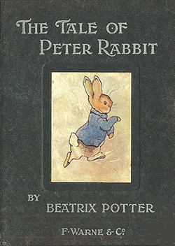 cover of original The Tale of Peter Rabbit book