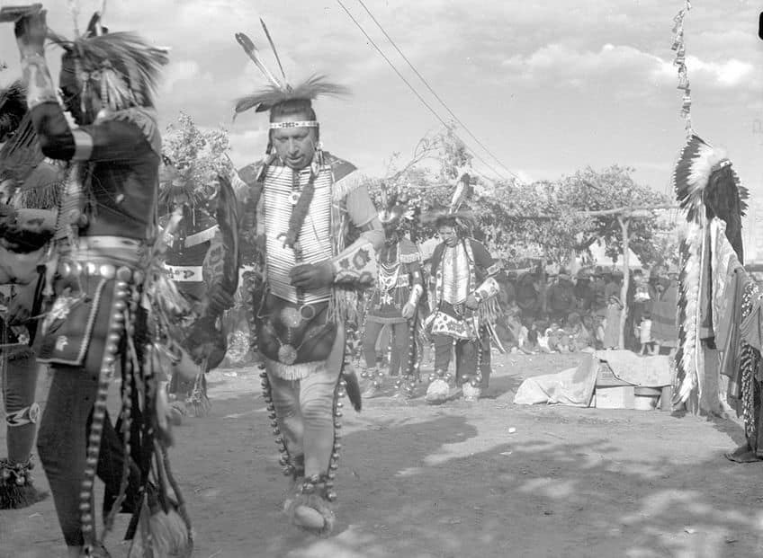 historical photo of dancers from 1931