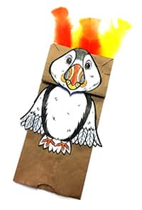 puffin puppet