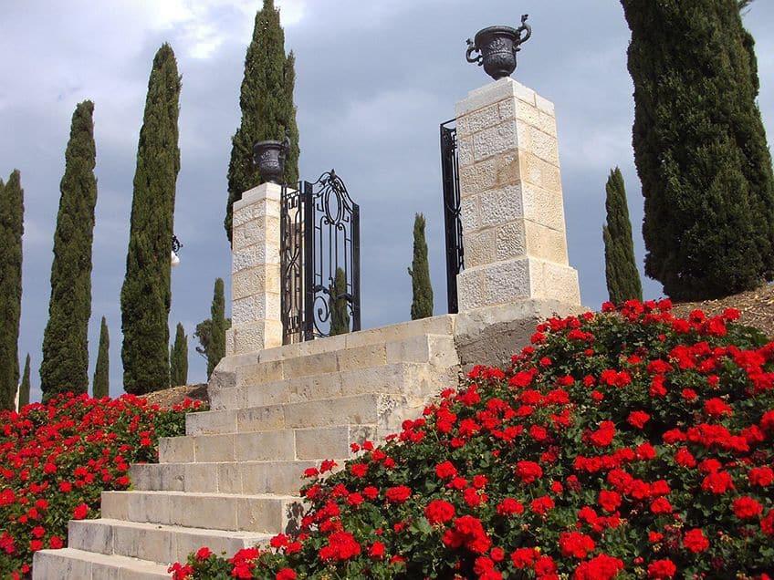 Garden near the Shrine of Bahá´u´lláh near Akká