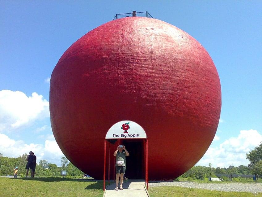 The Big Apple of Colborne Ontario