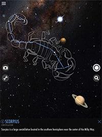 Celestial scorpion