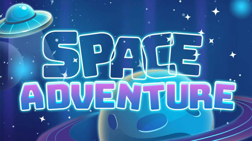 Click here to play space adventure