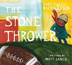Book cover, The Stone Thrower