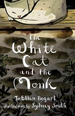 Book cover, The White Cat and the Monk