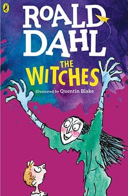Book cover: The Witches by Roald Dahl