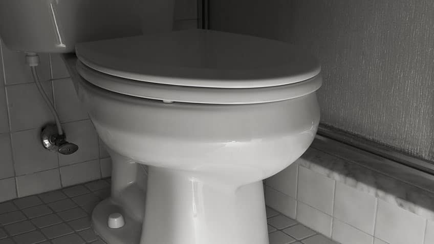 Picture of a toilet.