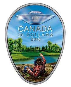 commemorative coin from the Canadian Mint